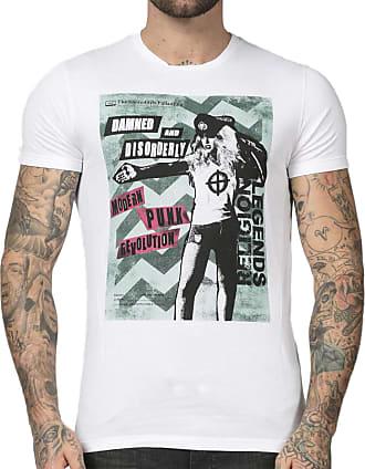 Religion Mens Damned TEE T-Shirt, White (White 013), (Size:XL)