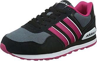 buy popular 923fa 32876 adidas Neo Damen 10K Sneaker Schwarz (BlackGreyPink) 38 EU