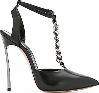 Casadei chain detail pumps - Black