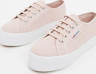 Superga 2790 flatform 4cm trainers in pink