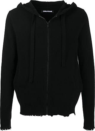 Zadig & Voltaire Clash hooded zip-up cardigan - Black