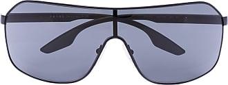 Prada Óculos de sol aviador esportivo - Cinza