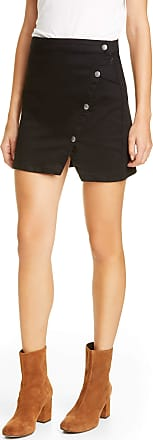 Free People Womens Black Mini A-Line Skirt Juniors Size: 0