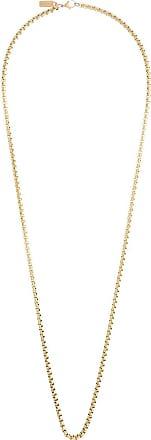 Nialaya rolo chain long necklace - GOLD