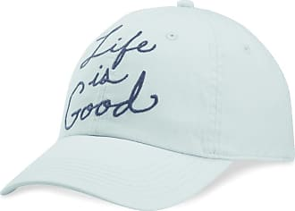 Life is good Big Script Chill Cap OS Bermuda Blue
