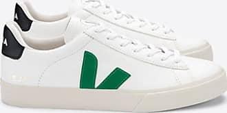 Veja Extra weiße schwarze Campo-Sneakers von Emeraude - 36
