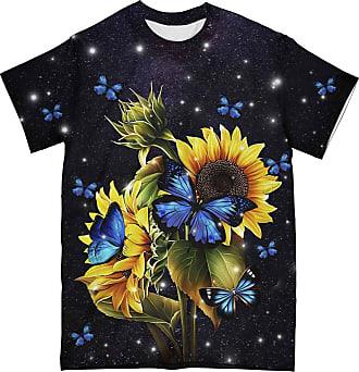 NA Butterflies and Sunflowers 3D Shirt