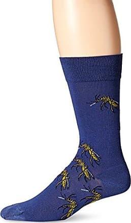 Ozone Mens Mosquito Squadron Sock, Navy, 10-13
