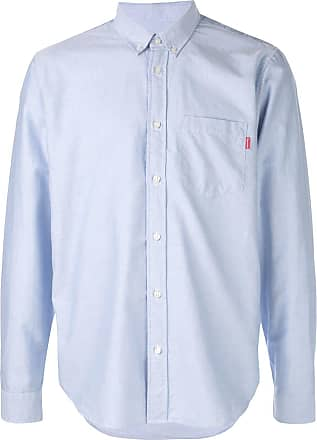 SUPREME button-down shirt - Blue