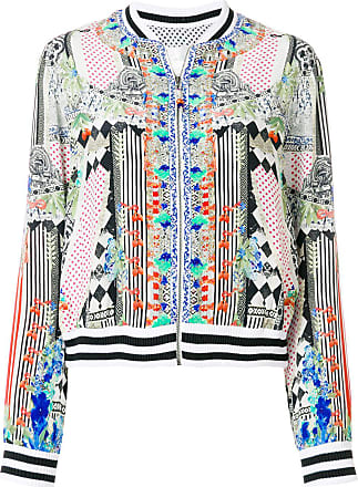 b34609923a0d4 Camilla abstract print bomber jacket - Multicolour