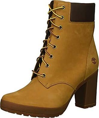 Timberland Womens Camdale 6in Boot Fashion, Wheat Nubuck, 9.5 M US