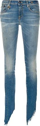 R13 slim distressed jeans - Blue