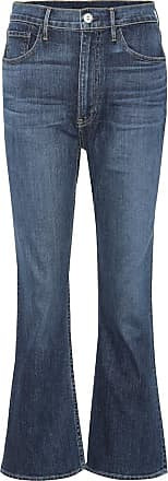 3x1 Flared Jeans W5 Empire Crop Bell