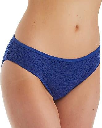 Panache Anya Crochet Classic Bikini Brief Bottoms SW1256 (12) French Blue