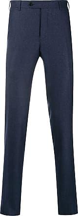 Canali Calça de alfaiataria reta - Azul
