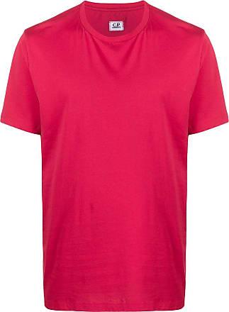 C.P. Company Camiseta decote careca de jérsei - Vermelho