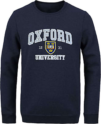 Oxford University Official Licensed Applique Sweatshirt (X-Small, Navy)