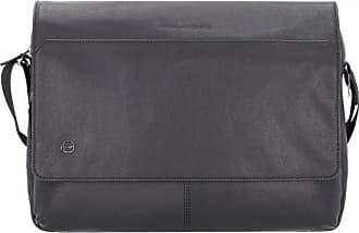 Piquadro Black Square Messenger Borsa a tracolla pelle 37 cm scomparto  Laptop f91d98816ff