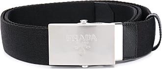 Prada Logo-engraved belt