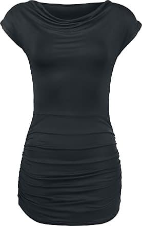 024b9f6655c295 Forplay Gathered Shirt - T-Shirt - schwarz - EMP Exklusiv