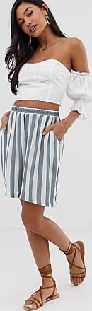 Ichi Gestreifte Shorts-Mehrfarbig