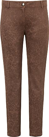 Emilia Lay Leather-look trousers Emilia Lay brown