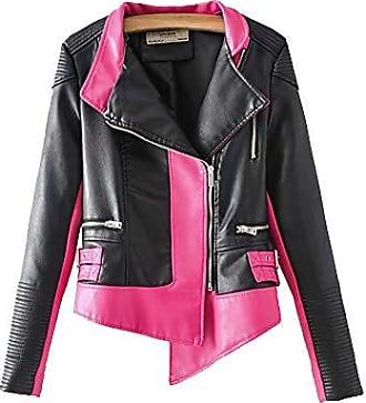 limitierte Anzahl Rabatt-Sammlung zum halben Preis Damen-Lederjacken in Pink Shoppen: bis zu −55% | Stylight