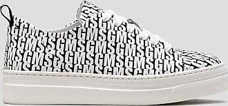 Msgm multi logo cupsole sneaker