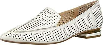Franco Sarto Womens STARLAND3 Loafer, White, 6.5 M US