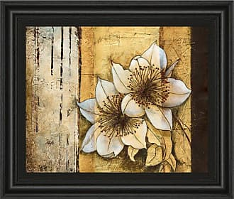 Classy Art Exotic On Gold I Framed Wall Art - 26W x 22H in. - 4833