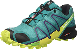 Salomon Tênis Feminino Speedcross 4 Azul/Lime 392402 - Salomon - 36