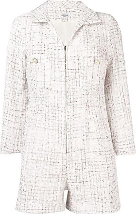 Jovonna London Macaquinho de tweed - Branco