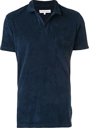 Orlebar Brown Towelling Resort polo shirt - Azul