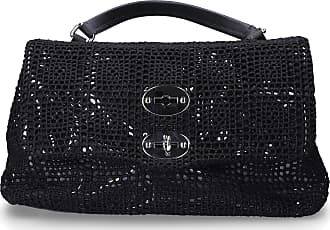 Zanellato Handbag PALAMITARA cotton logo black