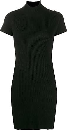 Zadig & Voltaire Myria ribbed mini dress - Black