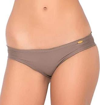 f127180a160e0 Luli Fama Womens Cosita Buena Full Ruched Back Bikini Bottom, Sandy Toes, M