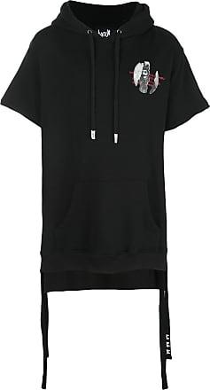 Haculla Torn Away hoodie - Black