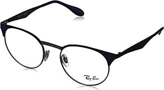 cb04e475d7 Ray-Ban 0RX6406 Monturas de gafas, Gunmetal/Shiny Blue, 49 Unisex