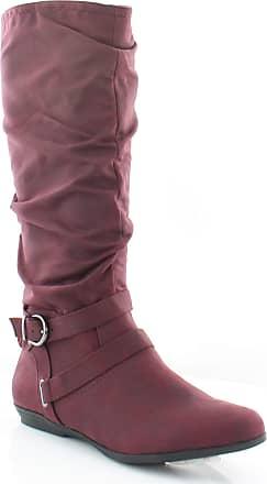 White Mountain WHITE MOUNTAIN Fairfeild Womens Boots Burgundy Size 9.5 M, Burgundy, Size 9.5