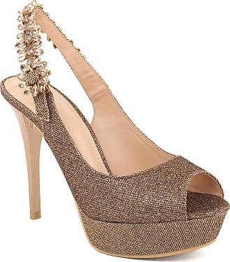 Unze Unze Women SIENNA Dazzling with High Heel Sandals UK Size 3-8 - 2011-25