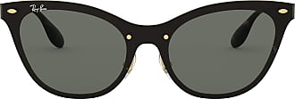 Ray-Ban Womens 3580N Sunglasses, Negro, 43