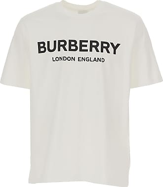 Burberry T-Shirts für Herren, TShirts Günstig im Sale, Weiss, Baumwolle, 2019, L M S XL XS XXL