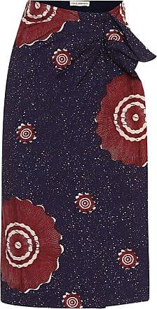 Ulla Johnson Ember printed cotton midi skirt