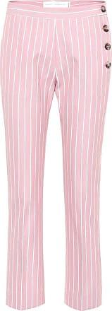 Victoria Beckham Striped cotton trousers