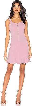 J.O.A. Zipper Front Dress in Lavender