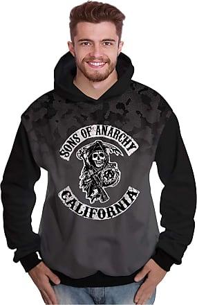 Di Nuevo Moletom Sons of Anarchy Motociclistas Samcro