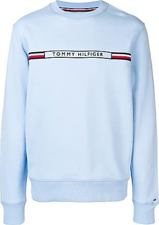 Tommy Hilfiger Moletom com logo - Azul