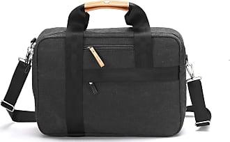 Qwstion Bürotasche schwarz gewaschen