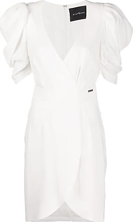 John Richmond Vestido envelope - Branco