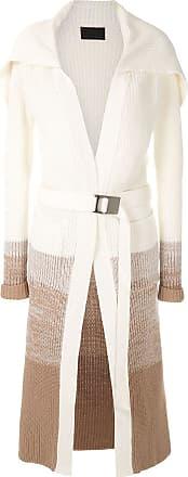 Andrea Bogosian Cardigan Raymong de tricô - Branco